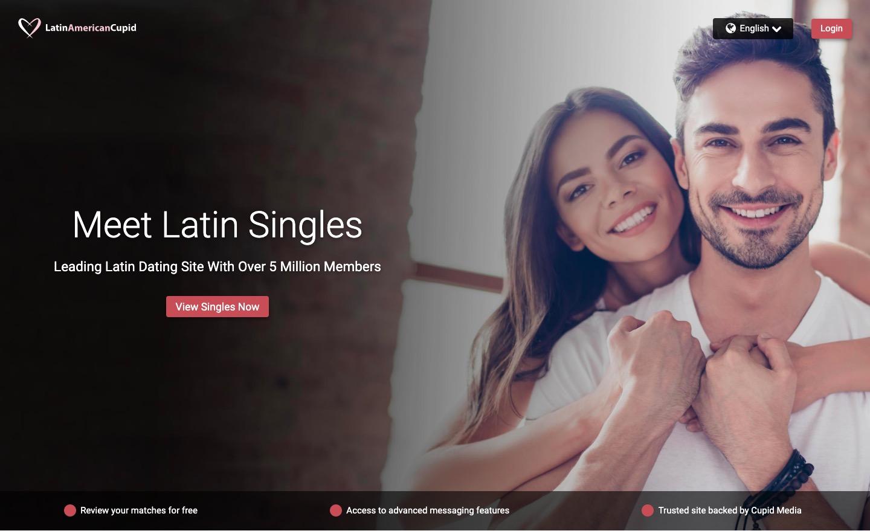 LatinAmericaCupid main page