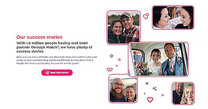 Match.com success stories