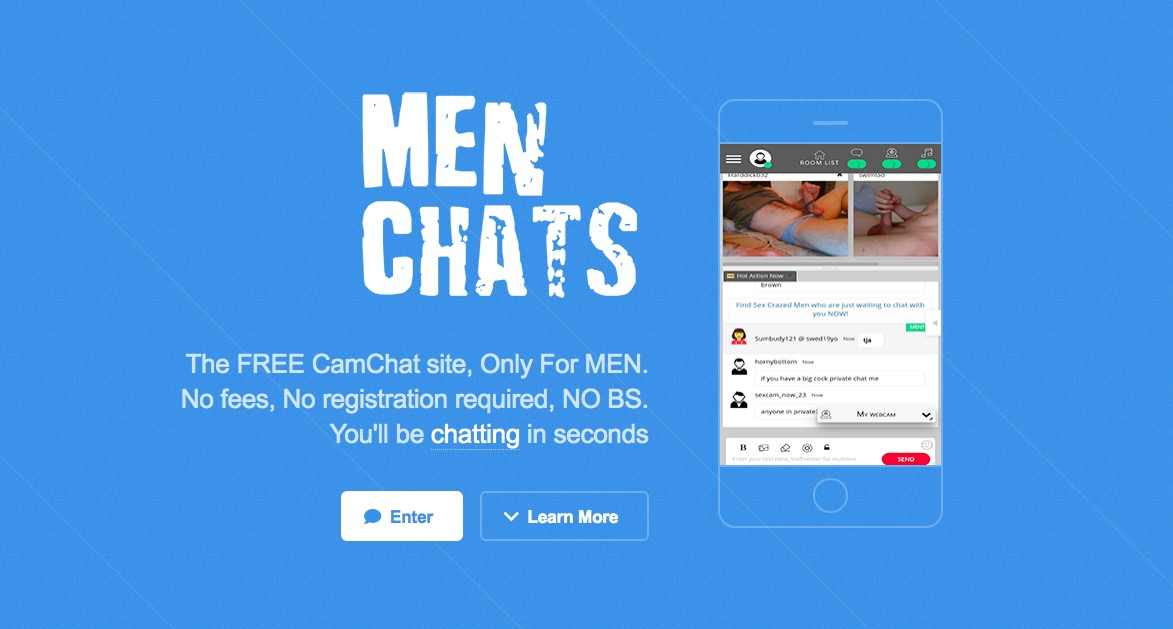 Menchats main page