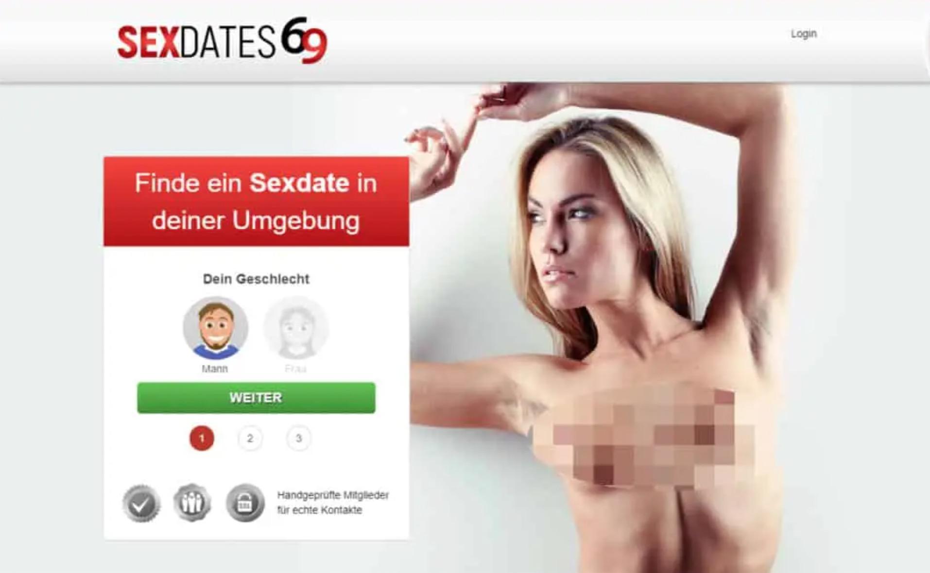Sexdates69 main page